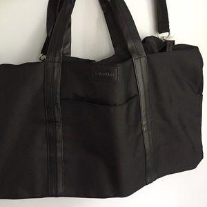 NWT Calvin Klein Black Duffle Bag